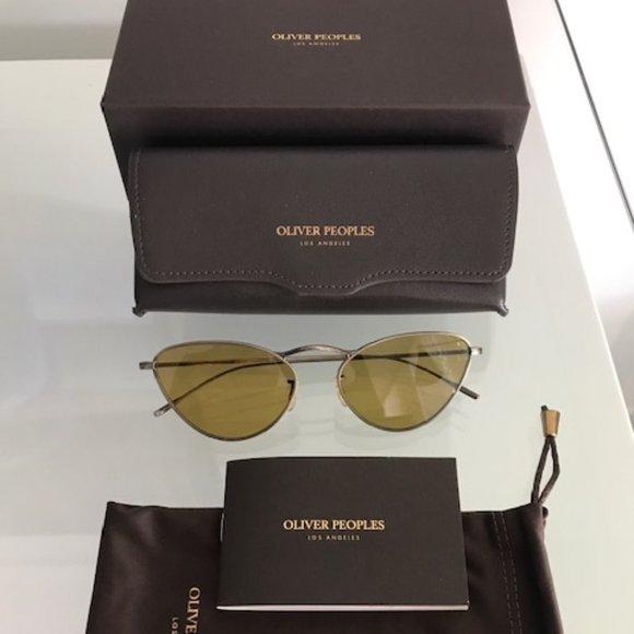 OLIVER PEOPLES Lelaina OV1239S Gold Sunglasses